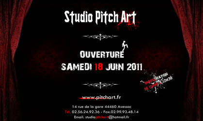 Openning Studio Pitch Art by StudioPitchArt