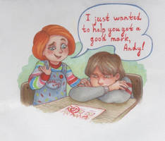 Thank you, Chucky by LazyDasha