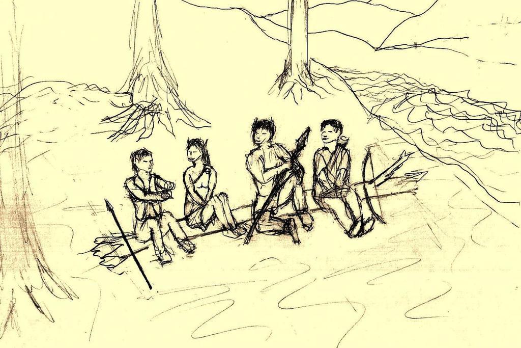 Four Friends 4 by Gnoll-El