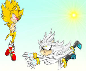 Silver meets Fleetway(finished) by Jiangshi-the-wolf
