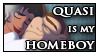 Quasi Is My Homeboy Stamp by DoomyMouse