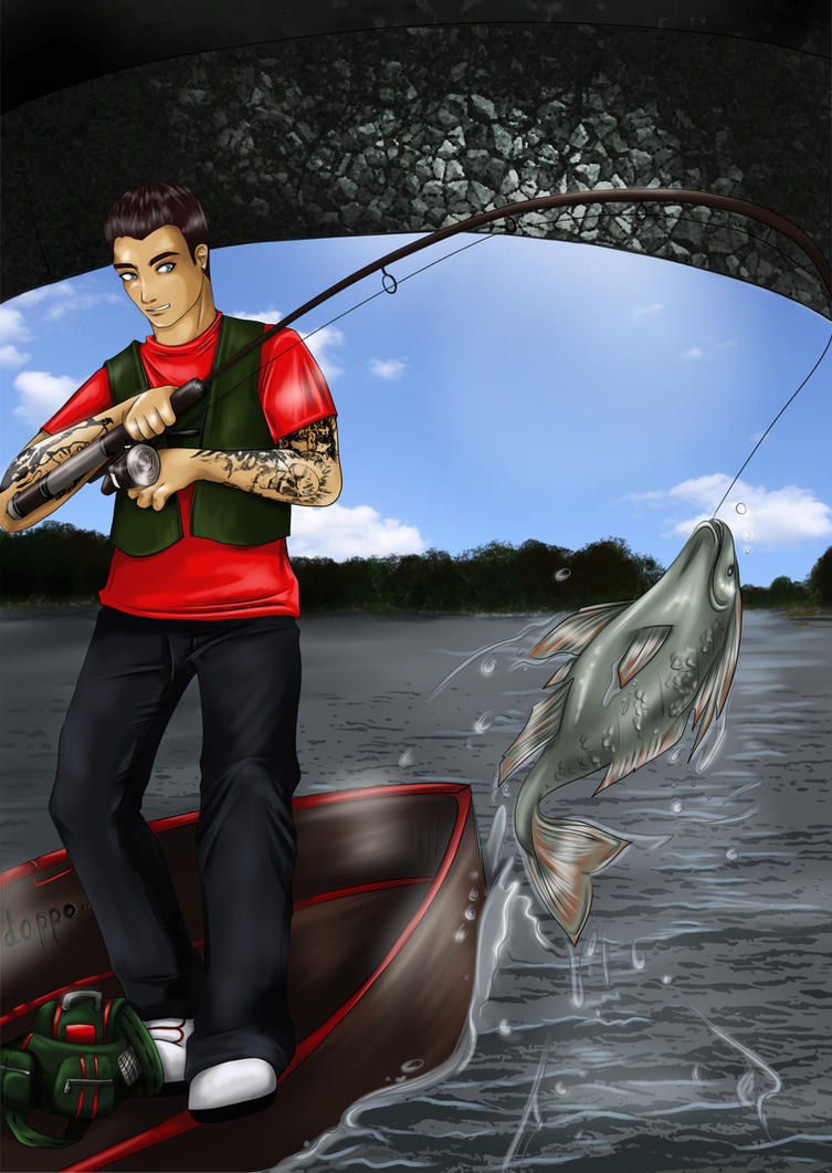 Angler by Sarah-Lia