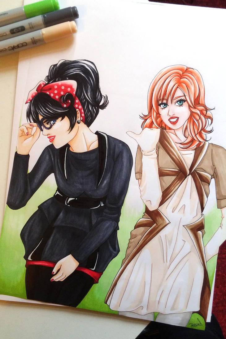 copic 3 by Sarah-Lia