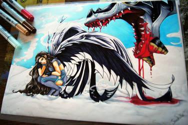 Cold Dragon by Sarah-Lia