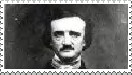 Edgar Allan Poe Stamp by TheDauphine