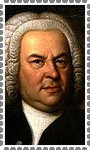 Johann Sebastian Bach Stamp by TheDauphine