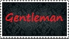 Gentleman -Stamp- by TheDauphine