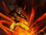 Fist of the Fire Dragon_Natsu