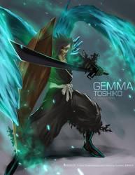 Gemma Toshiko_Bankai by ArtofLariz