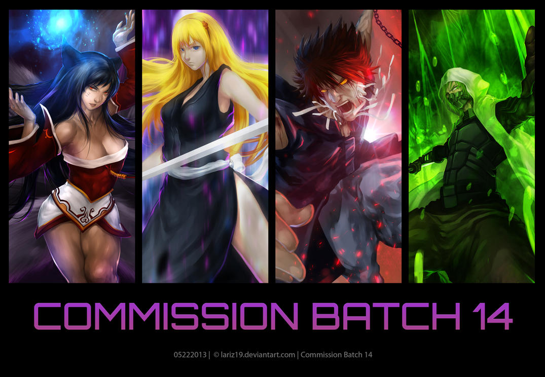Commission Batch 14 by LarizSantos