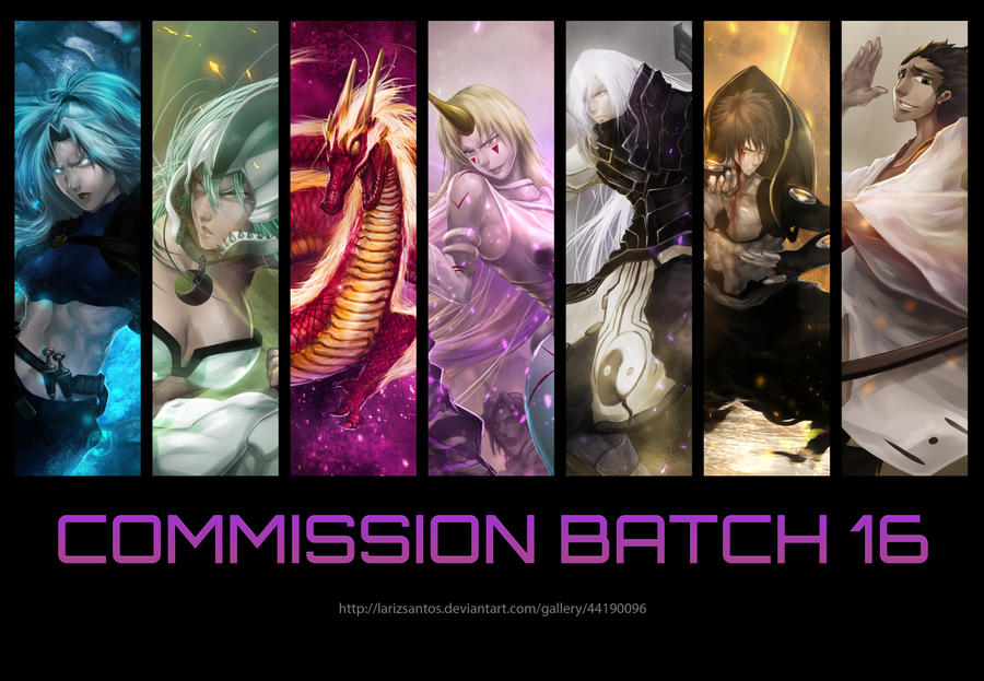 Commission Batch 16 by LarizSantos