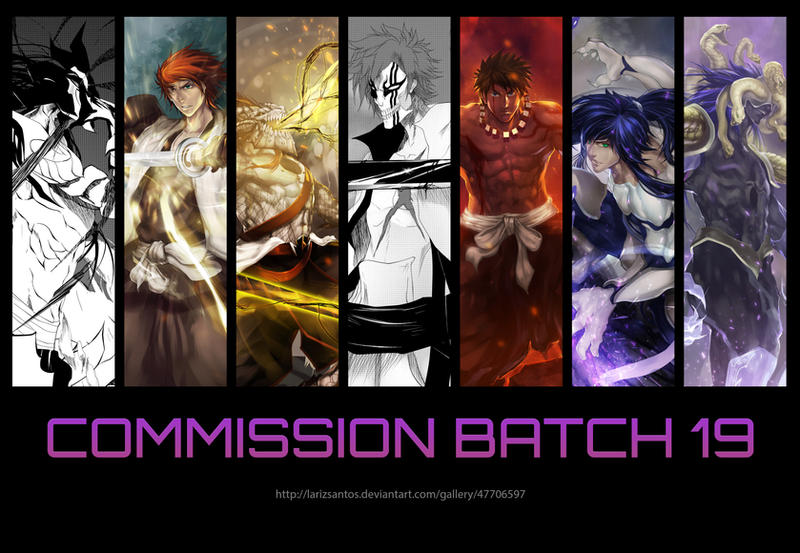 Commisssion Batch 19 by LarizSantos