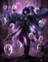 Witch of a Thousand Faces by ArtofLariz