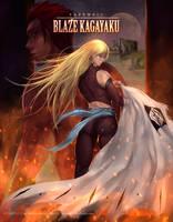 Tribute to Blaze Kagayaku by ArtofLariz