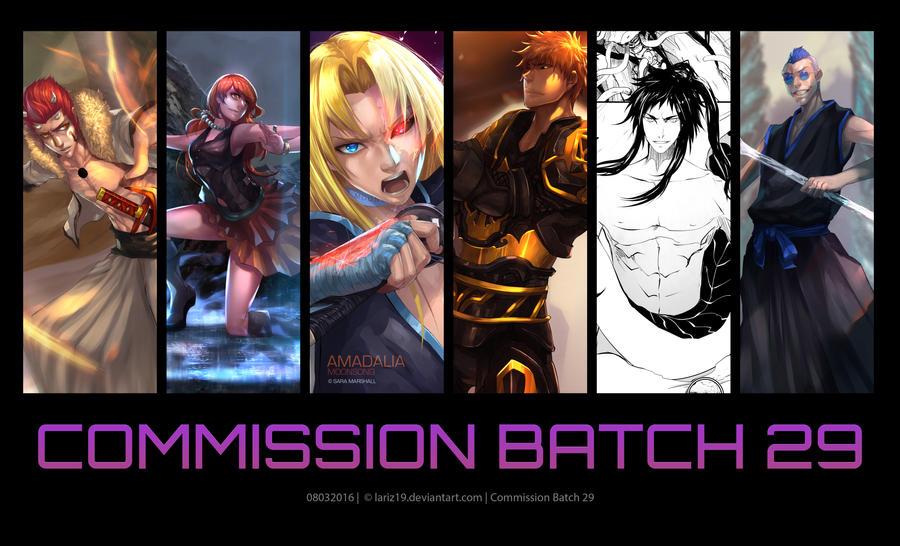 Commission Batch 29 by LarizSantos