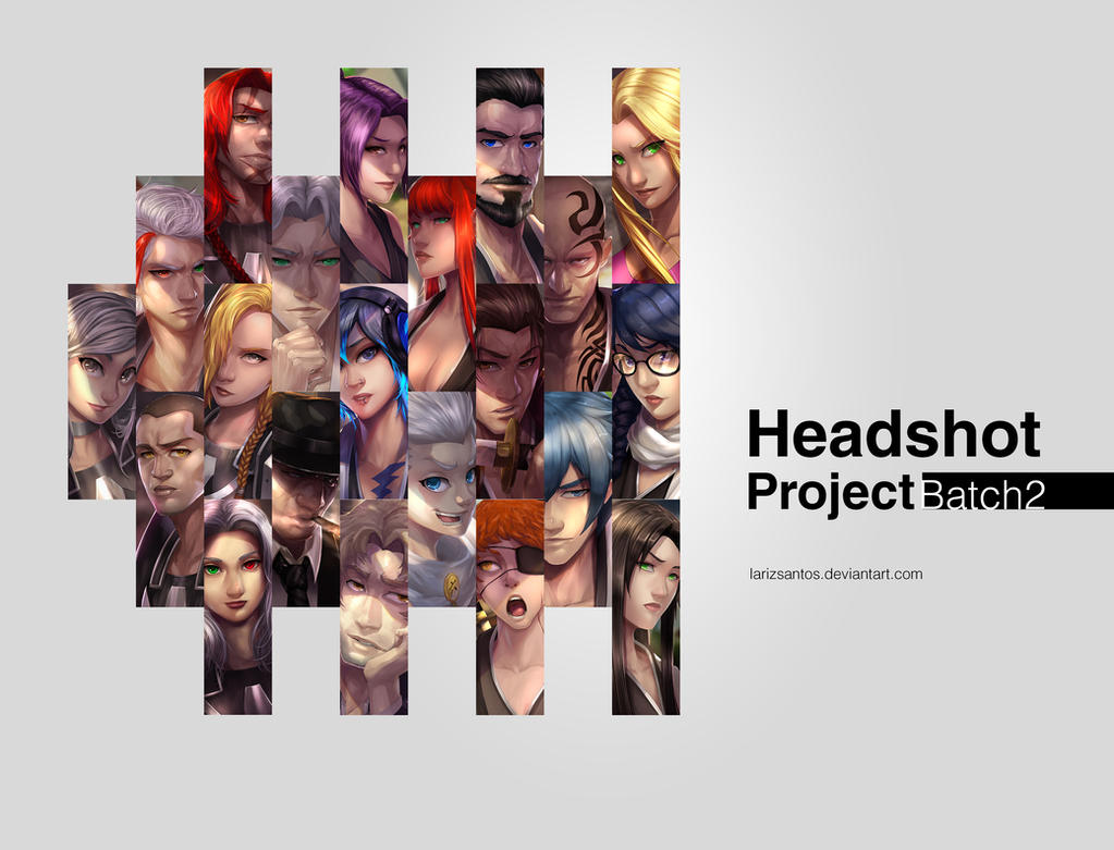 Headshot Project Batch 2 by LarizSantos
