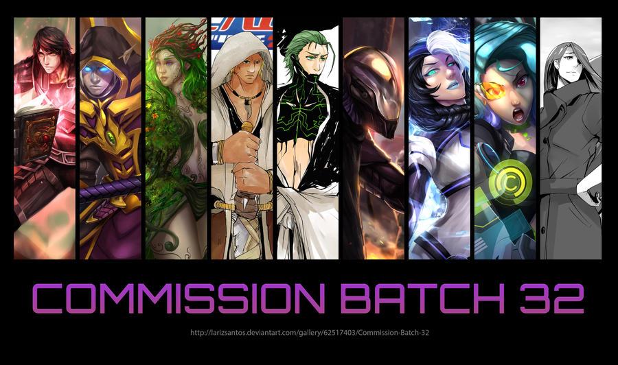 Commission Batch 32 by LarizSantos