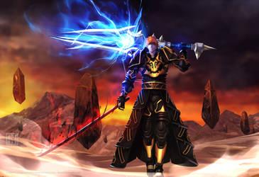 Ichigo_BleachXWorld_of_Warcraft by ArtofLariz