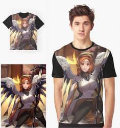 InoueXMercy Graphic shirt by ArtofLariz
