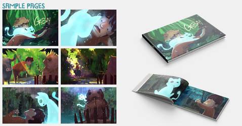 GABAY Book sample presentation by ArtofLariz