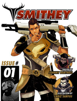 SMITHEY Cover First Issue