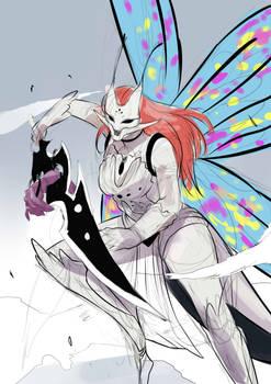 Saeko Cover Sketch