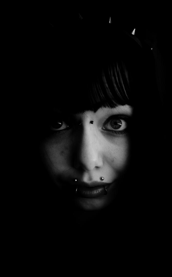 A Face in The Darkness by Theanimalparade
