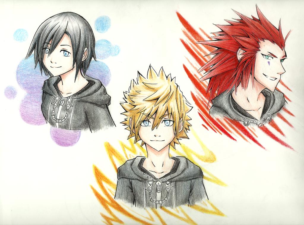 Kingdom Hearts by P-Dizzy8