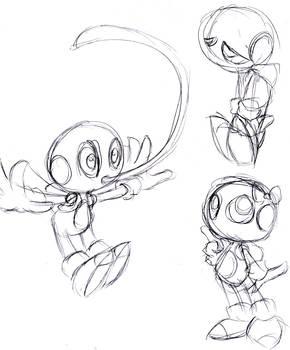 Chameleon Twist-Sketch