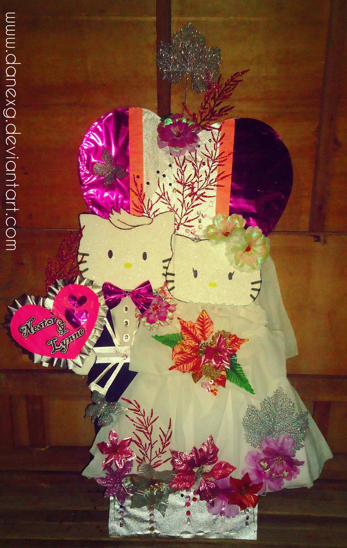 DIY: Hello Kitty Wedding Decor by danexg