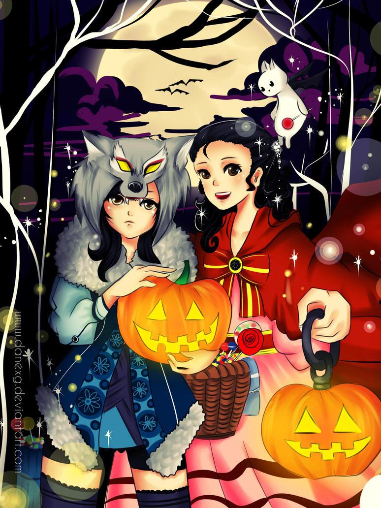Halloween Lights by danexg