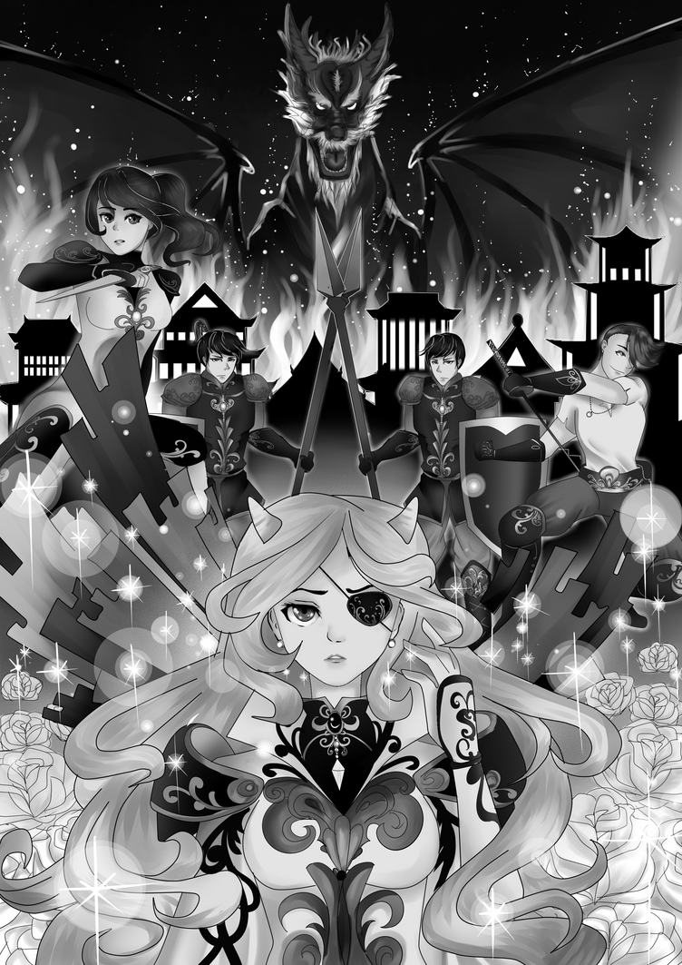 The Aurora Heroes by danexg