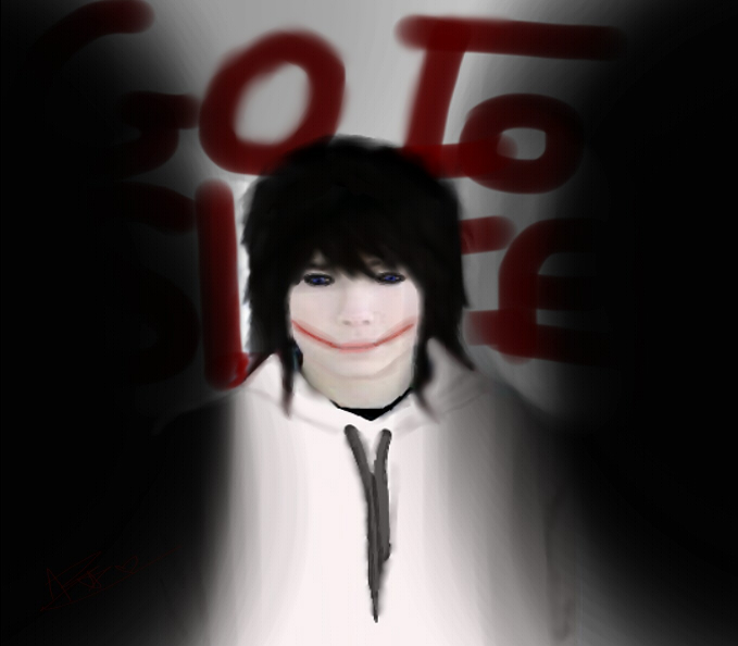 Jeff the Killer in real life by Andi-the-Killer12 on DeviantArt