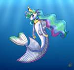 Princess 'Sealestia' by MidnightFire1222