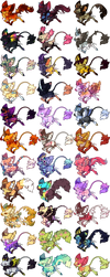 Minkin - Chibi Base Commissions by sparkletrash