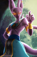 Beerus - the God of Destruction by AloneFlaver