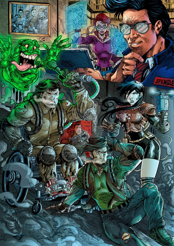 Extreme Ghostbusters by RobertoRibeiro