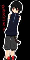 .:Vampire O.C - Zaroku :. by RoxasLover-KH2