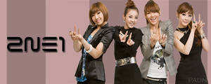 2NE1 website header