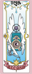Cardcaptor Sakura Clear Card - Record card by NakkiNya