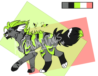 [OPEN] 300pt canine adopt by inubiiri