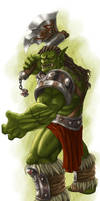 DS: Orc Male colored