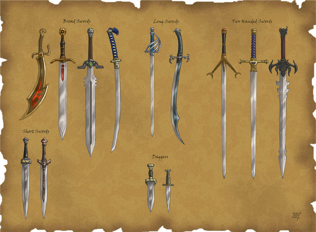 Ds swords by willowwisp