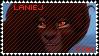 LanieJ fan stamp by KarmaDash
