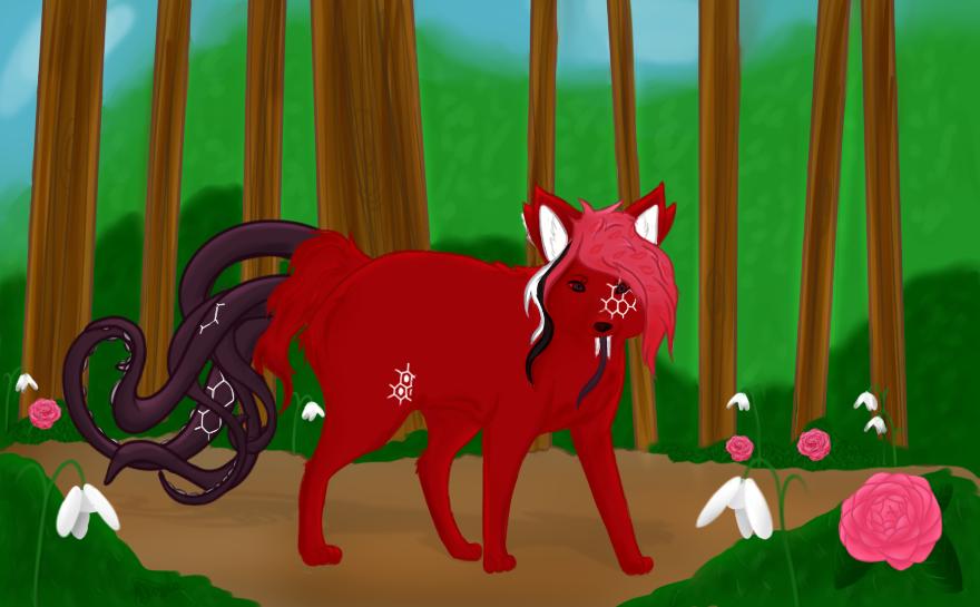 Comish: Wolfox by KarmaDash
