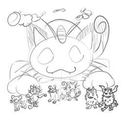 The Scratch Cat Pokemon