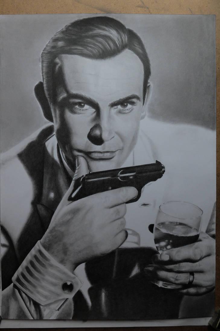 Sir Thomas Sean Connery aka Bond. James Bond. by Miniart89