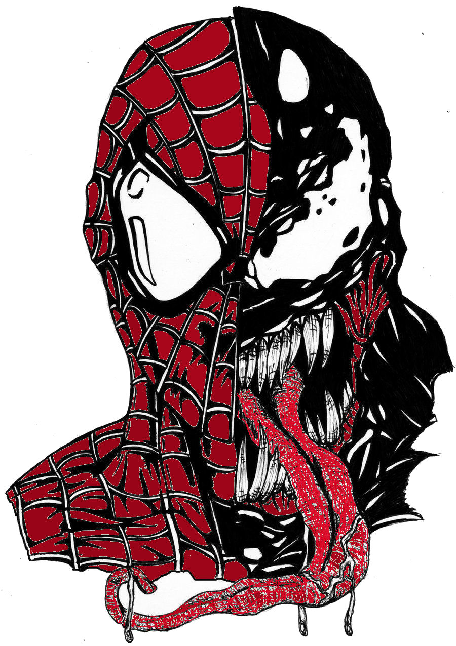 Venom spiderman art - photo#21