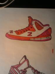 Zion Williamson/adidas sneaker by Clitis
