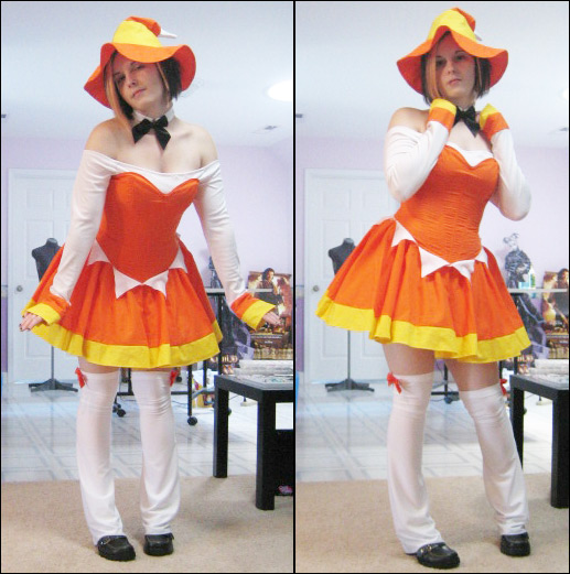 Candy Corn Costume by xkiddo
